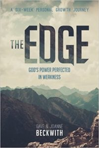 Book Cover: The Edge: God's Power Perfected in Weakness by Dave and Joanne Beckwith