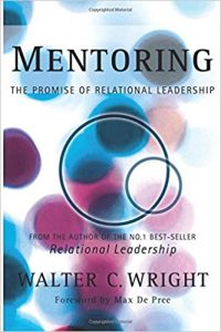 Book Cover: Mentoring: The Promise of Relational Leadership by Walter C. Wright
