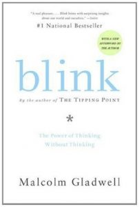 Book Cover: Blink by Malcolm Gladwell