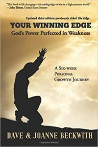 Book Cover: YOUR WINNING EDGE: God's Power Perfected in Weakness by Dave and Joanne Beckwith